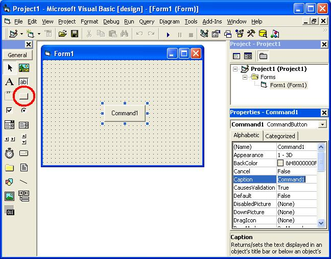 Visual Basic Tutorial Screen 4