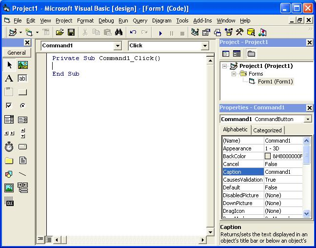 Visual Basic Tutorial Screen 5