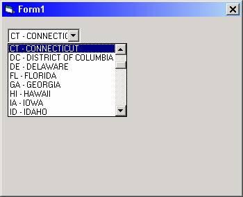 Visual Basic Combo Box Tutorial | Visual Basic 6 (VB6)