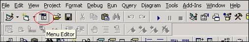 الدرس السادس عشر ...أنشاء القوائم menu, و أشرطة الادوات Toolbar !!! Image003