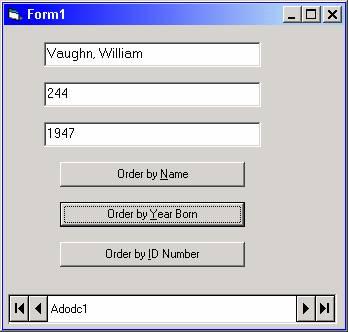 Visual Basic & ADO Tutorial | Visual Basic 6 (VB6)