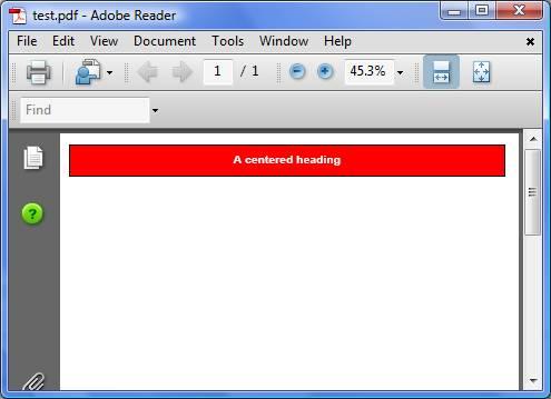 Creating Advanced PDF documents in VB | Visual Basic 6 (VB6)